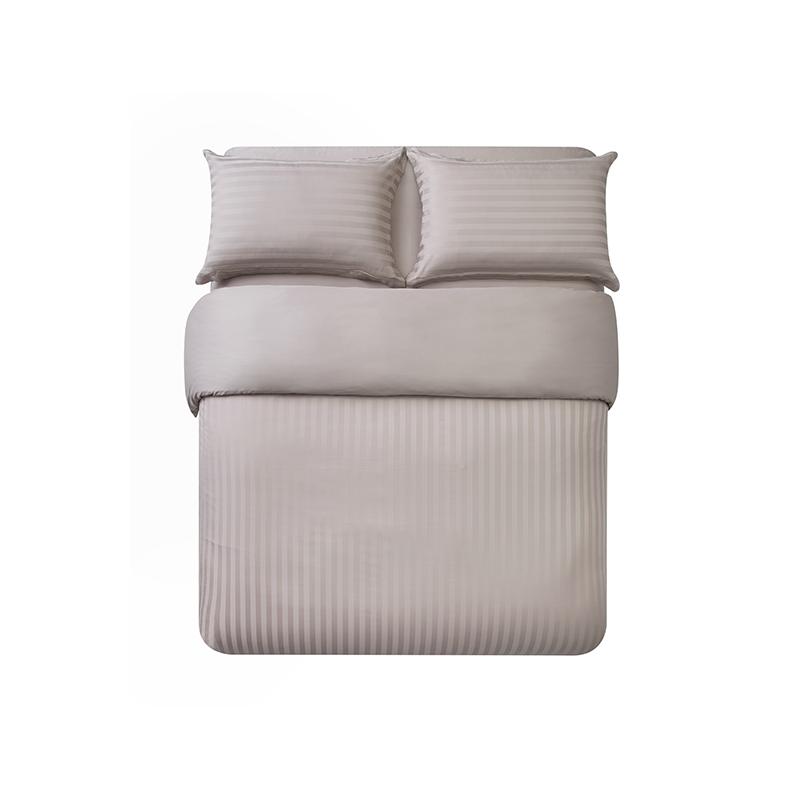 酒店风奢密四件套 (1.8m床:适用2.2mx2.4m被芯 ; 优雅棕(床单款))