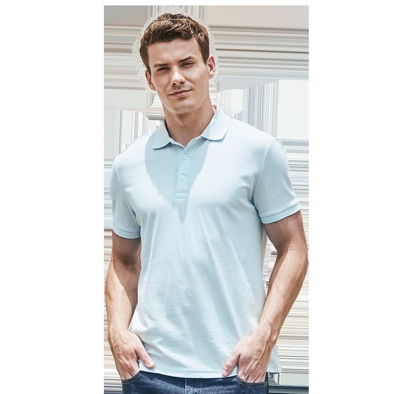 男式经典水柔棉POLO衫