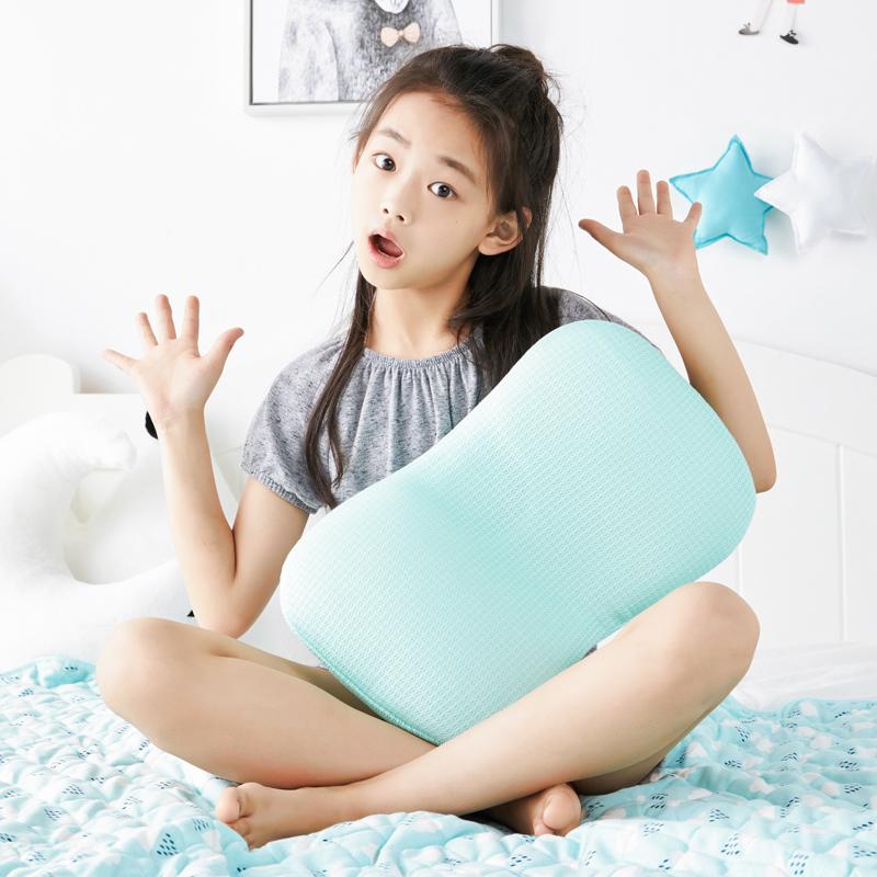 网易严选 儿童天丝3D透气可调节水洗枕头