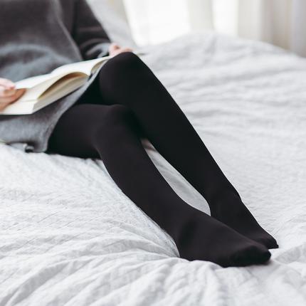 2双装 120D 竖纹天鹅绒压力连裤袜:竖纹设计,微压显瘦
