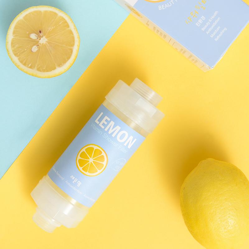 韩国制造 维C净水香氛滤芯 柠檬