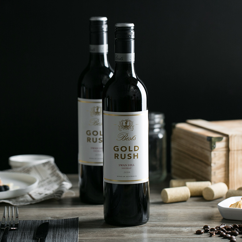澳洲直采 西拉干红葡萄酒 750毫升