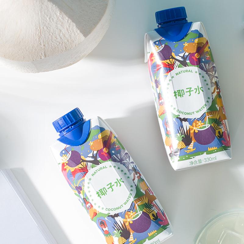 马来西亚直采 椰子水 330毫升*12瓶