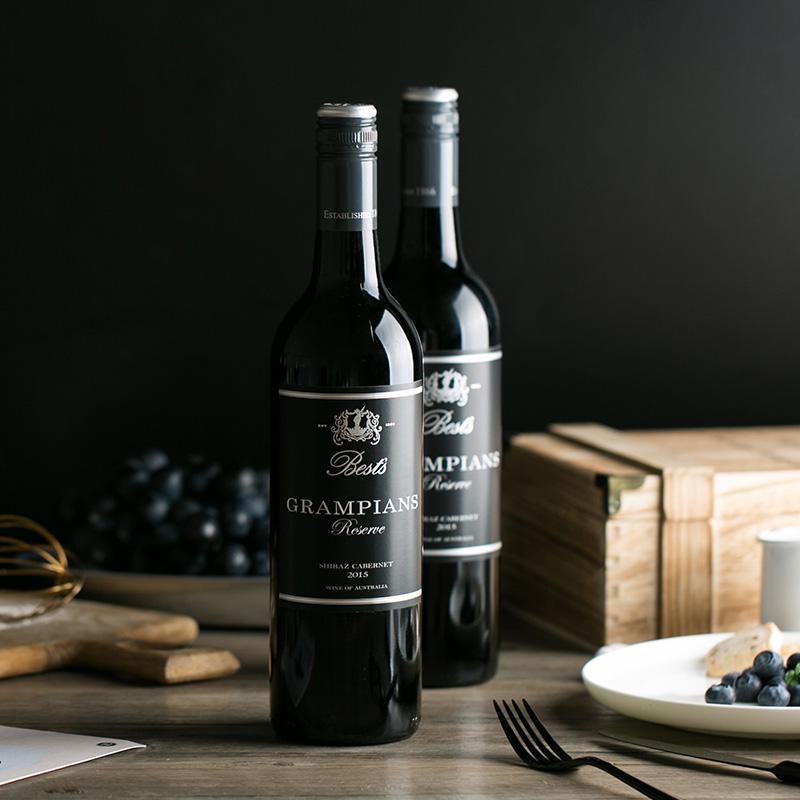 澳洲直采 西拉赤霞珠珍藏干红葡萄酒