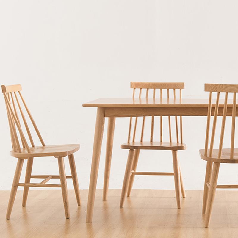 [아스코지] Askozy 윈저 원목식탁&의자세트 (테이블1개+의자4개)