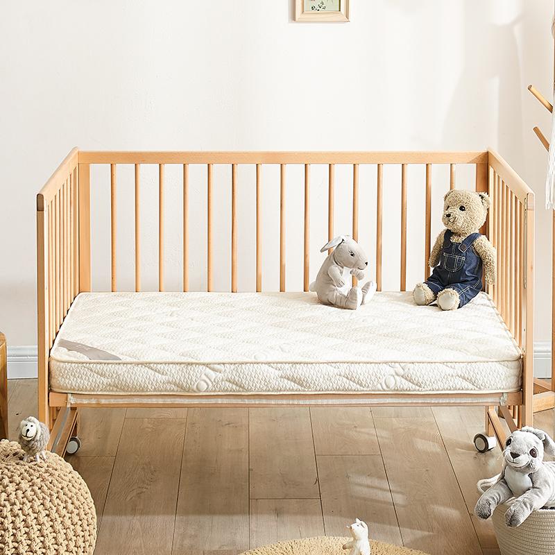 网易严选 天然黄麻椰棕乳胶 透气婴童床垫