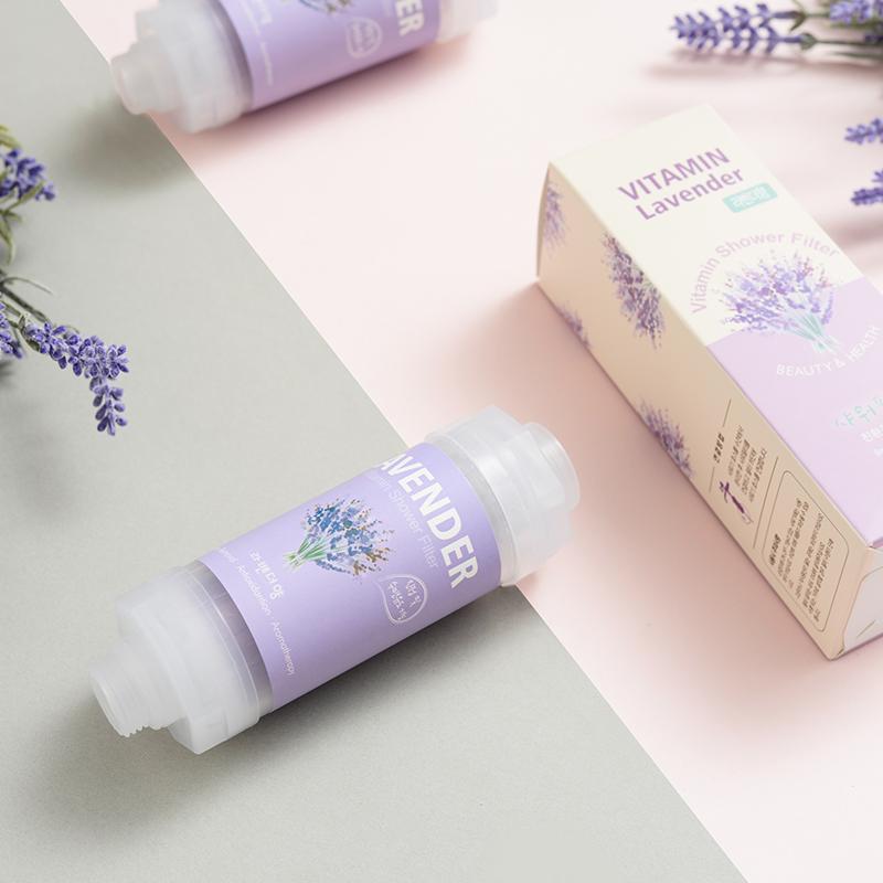韩国制造 维C净水香氛滤芯 薰衣草