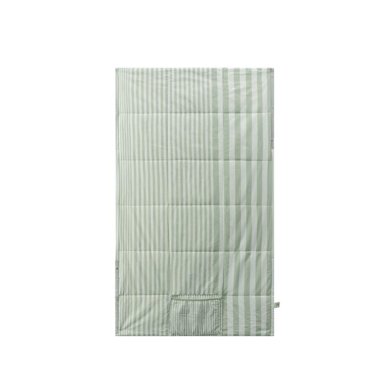 便携多用办公居家空调毯 廓形小被 (草木绿)