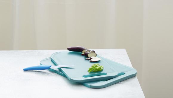 双面抗菌防滑透明菜板