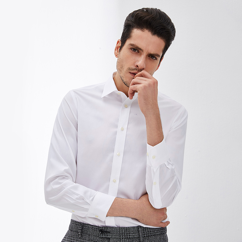 网易严选 男式高端DP免烫商务衬衫
