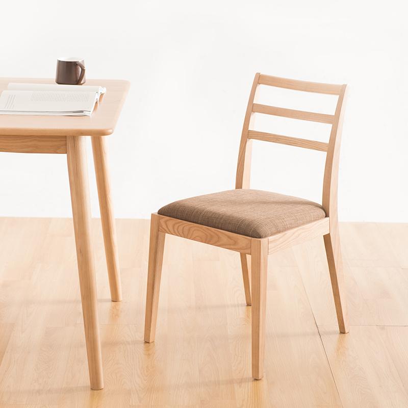 [아스코지] Askozy 오리지널 심플라인 원목 의자 2개세트