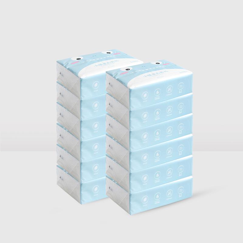 [아스코지 Askozy] 超柔乳霜纸巾 100抽*3包*4组 [육아 아동]