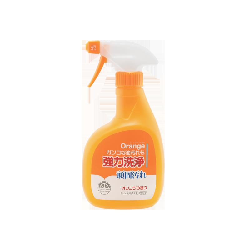 送现立减 日本制造 橙油强力除油污泡沫 400ml 强力除油污,萃取橙油精华