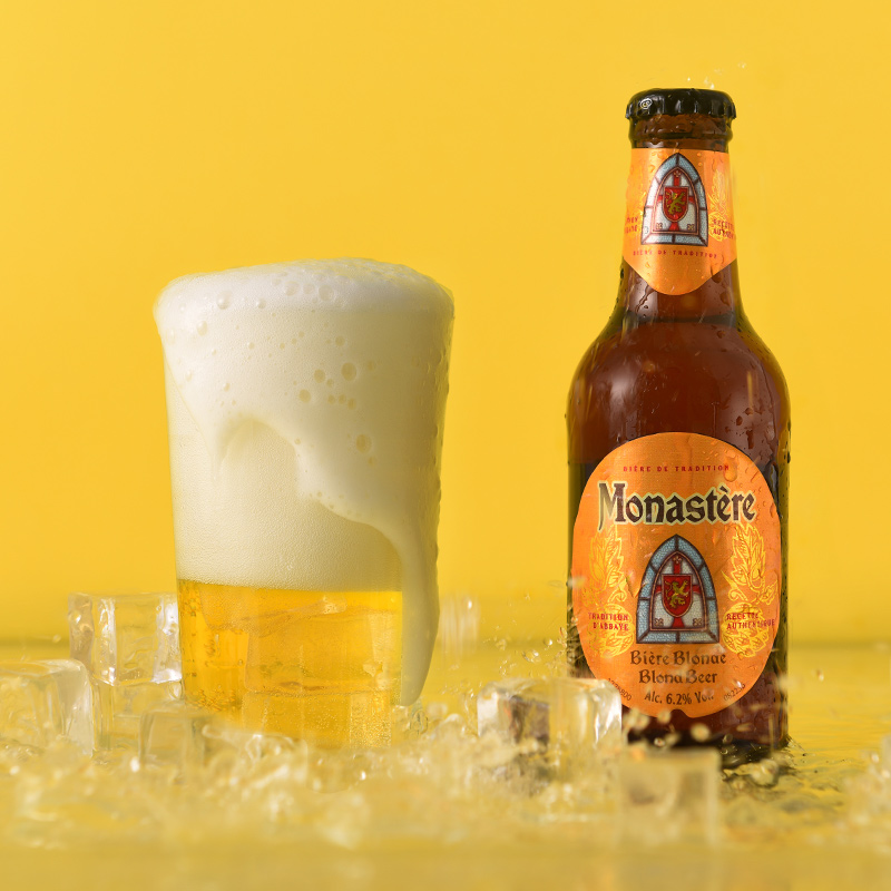 【考拉自营】网易严选 法国制造 莫奈星金啤酒 250毫升