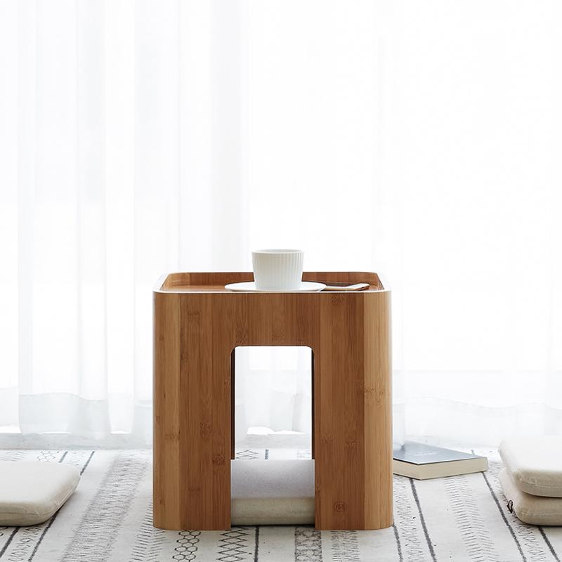 [아스코지] Askozy 대나무원목 다과상 티테이블 방석포함 세트