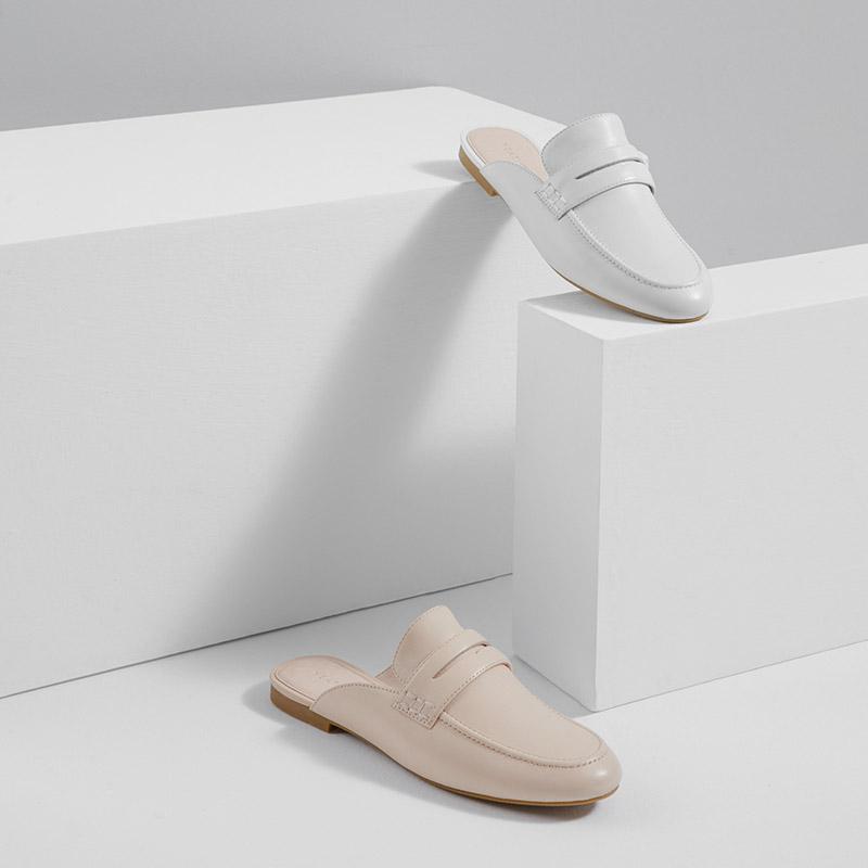 网易严选 女式基础系列穆勒鞋