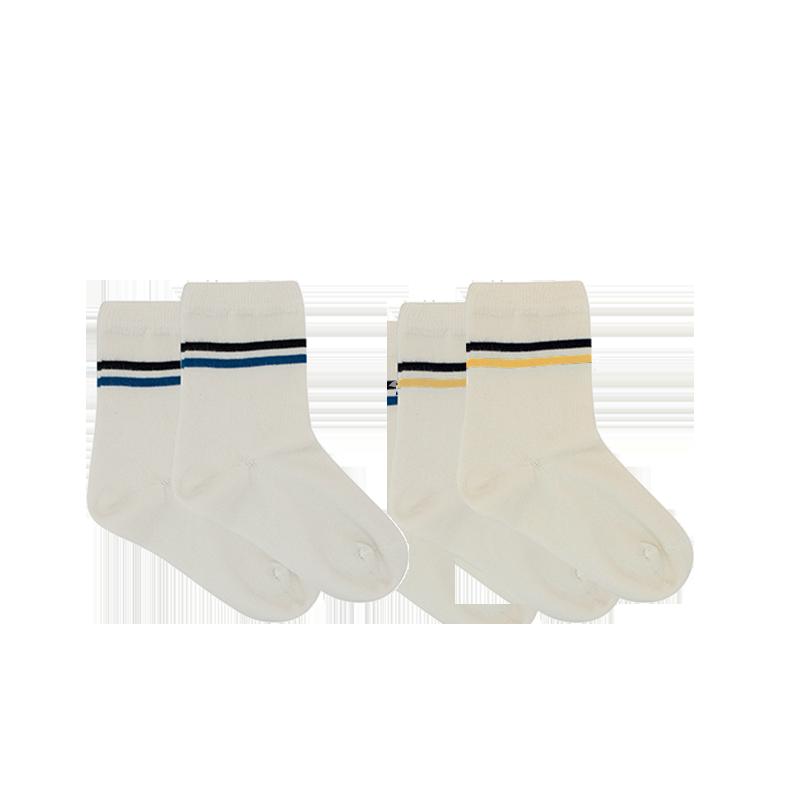 运动系 儿童条纹短袜