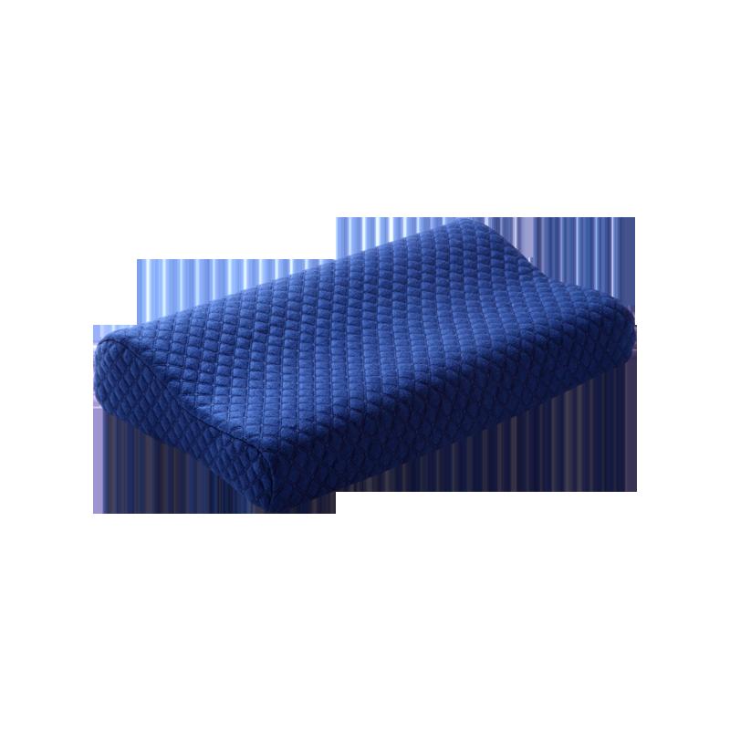 3D纯棉护颈波浪记忆枕 50*30*9-7cm