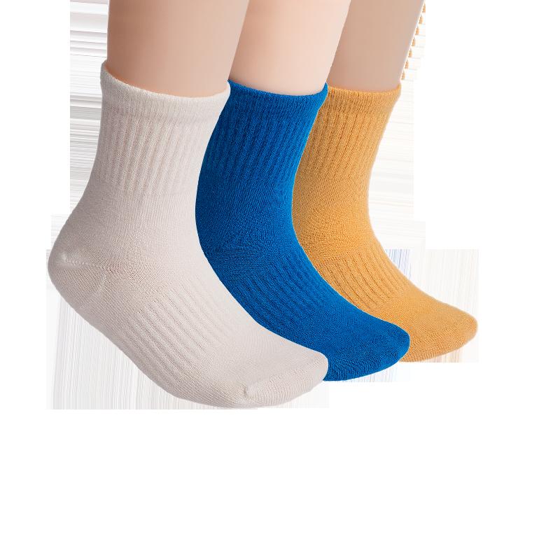 运动系 CoolMax纯色童袜