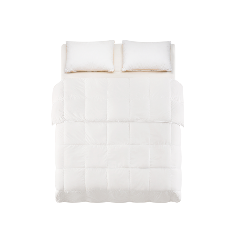 升级款柔软保暖羽绒被 (220*240cm白色1300g)