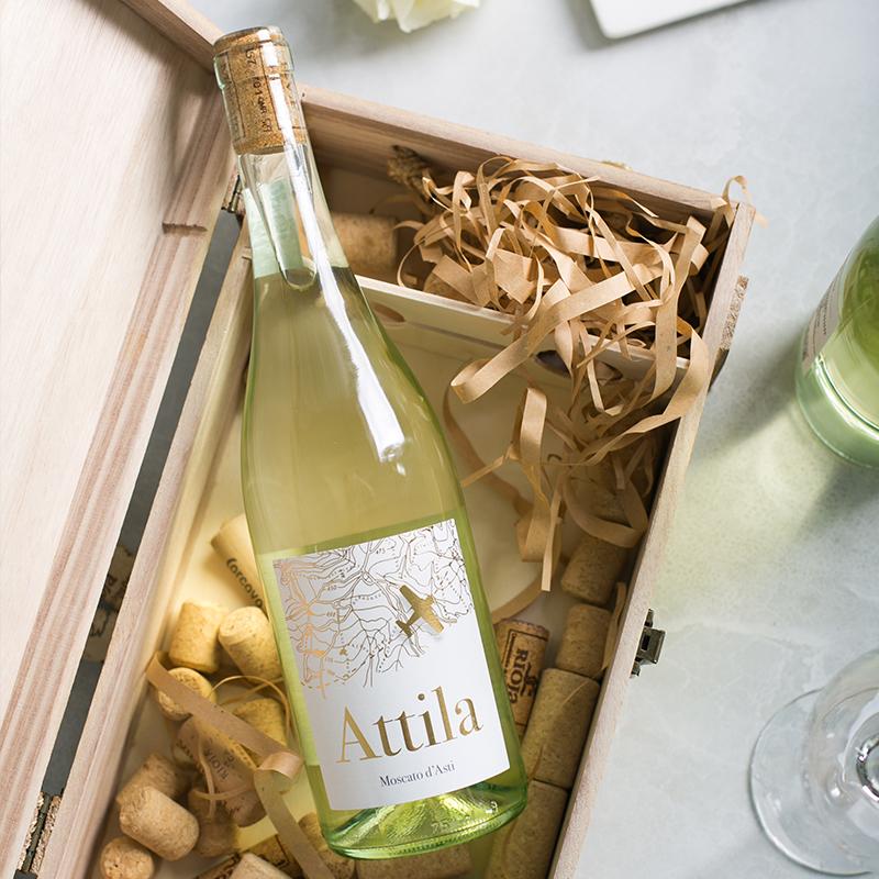 莫斯卡托阿斯蒂微起泡甜白葡萄酒,送朋友看球礼物