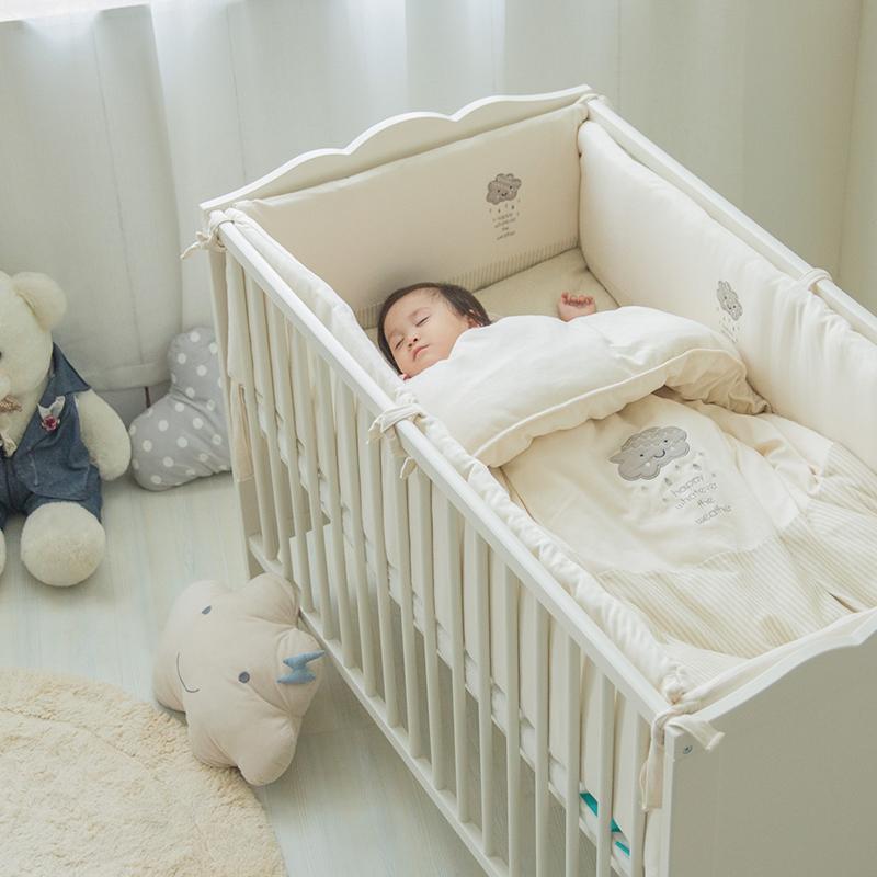 网易严选 彩棉婴儿床品14件套