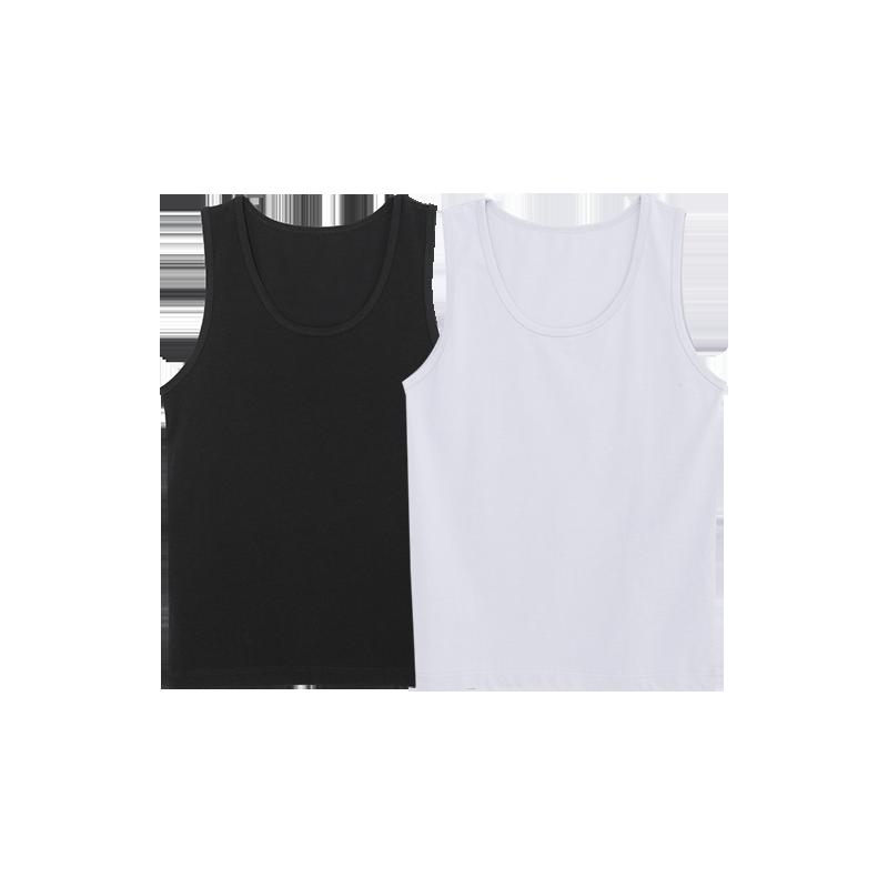 黑色+白色(2件)*XL