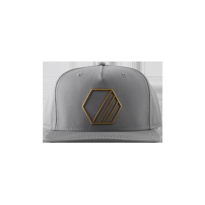 簡約純色平沿棒球帽