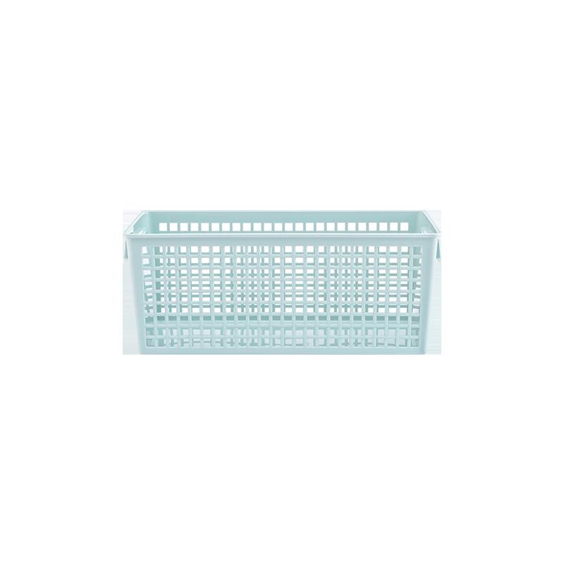 送现立减 日本制造 抽拉式标签收纳篮 3色可选 简单设计,让生活更有序