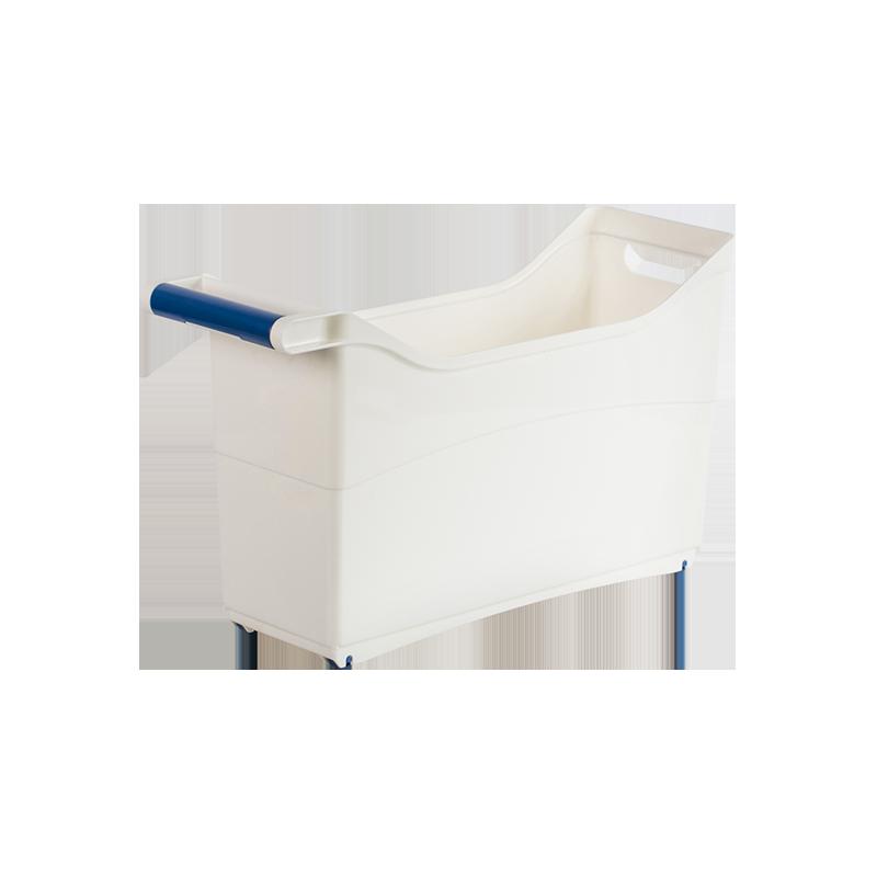 送现立减 日本制造 滑轮式餐厨收纳柜 收纳多种炒锅,滑轮自由移动