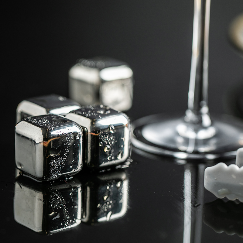 网易严选 6粒装 不锈钢冰粒