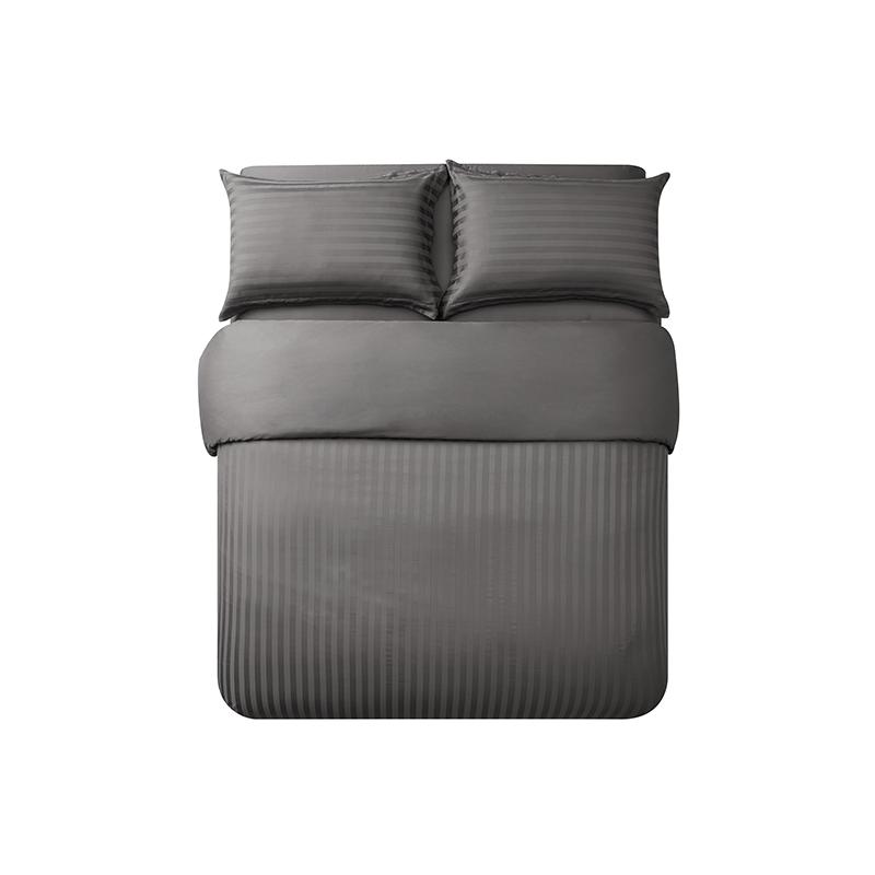 酒店风奢密四件套 (1.8m床:适用2.2mx2.4m被芯 ; 高级灰(床单款))