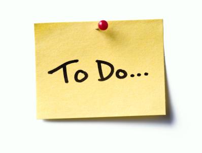 2019 Wish & To-do List - 1901