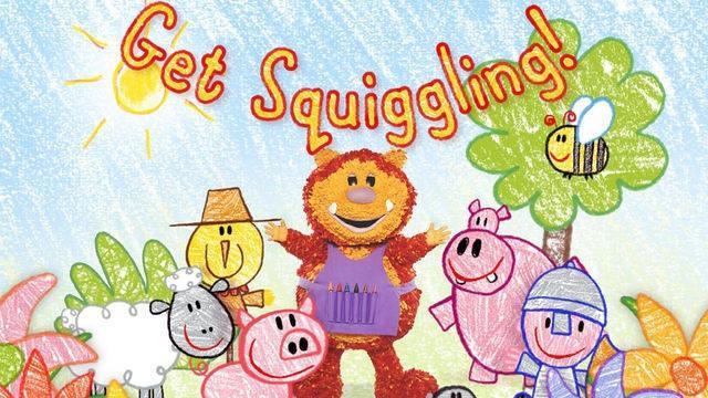 【鹅妈妈英语启蒙】彩色乐园Get Squiggling 123季76集 带字幕