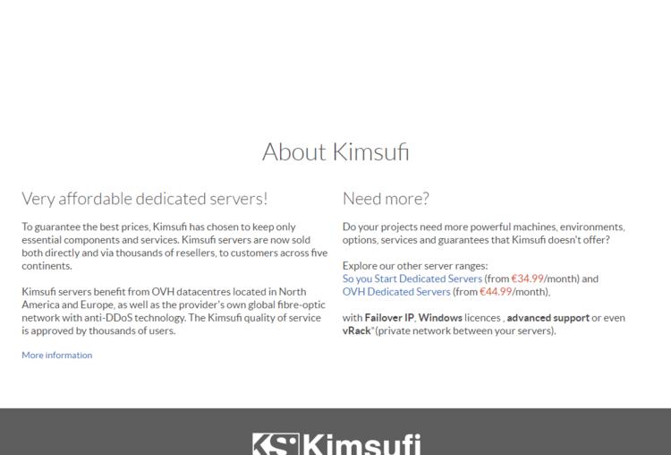 羊毛党之家 OVH Kimsufi 独立服务器闪销 KS-7 €8.99 / KS-10 €12.99