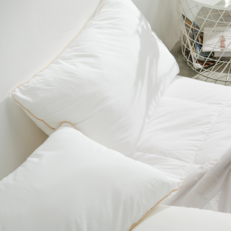 网易严选 平价赖床款,可水洗松软羽丝绒枕 升级款