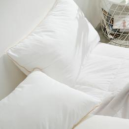 【8月5日0点低价开抢】网易严选 平价赖床款,可水洗松软羽丝绒枕 升级款