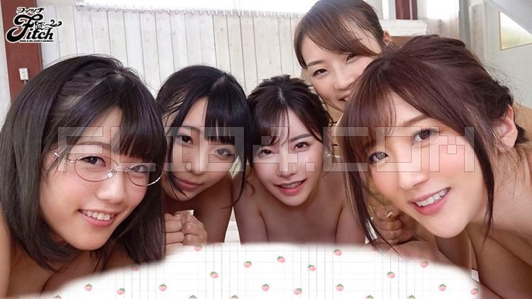 """肉感片商Fitch集结5位人气女友演出""""游泳社大L交"""" 男人团 热图4"""