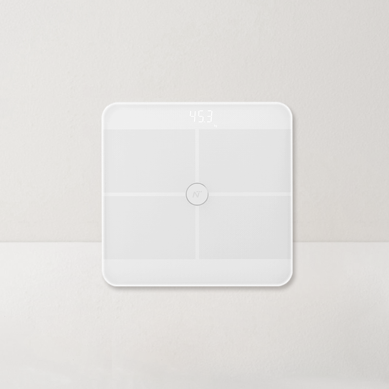 网易智造ITO智能体脂秤 (白色)
