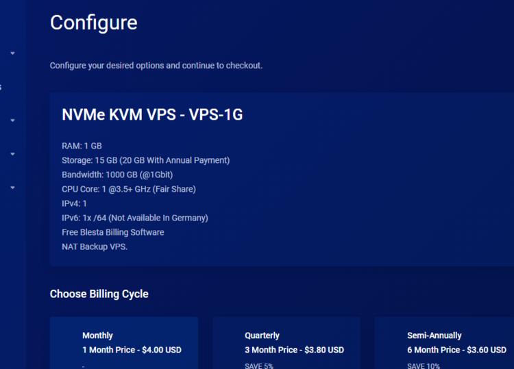 羊毛党之家 凑合-NexusBytes:$7.82/季/1GB内存/15GB NVMe空间/1TB流量/1Gbps带宽/KVM/DDOS/洛杉矶/纽约/德国