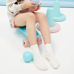 网易严选 运动系 CoolMax纯色童袜