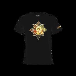 烫金T恤 黑色 炉石传说